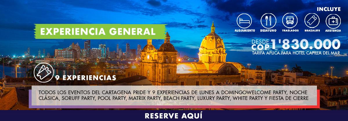 Experiencia general Cartagena Pride