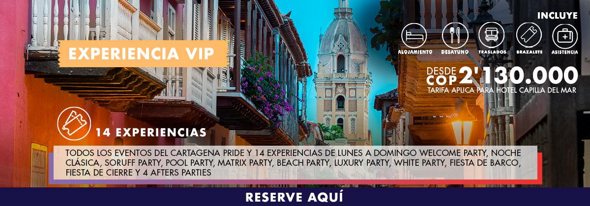 Experiencia VIP Cartagena Pride