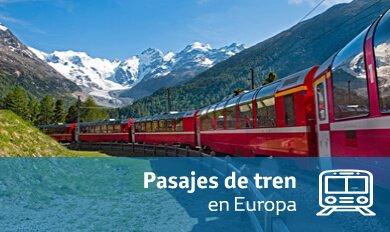 Pasajes de tren | Aviatur.com